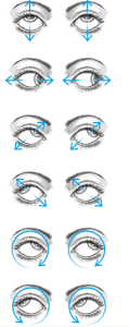 ochi, exercitii ochi, cataracta, miopie, glaucom,  ochelari