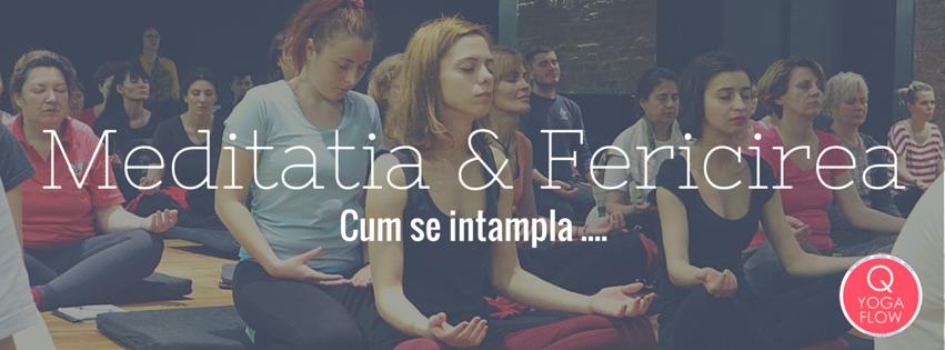 Meditatia & Fericirea  – Cum se intampla?