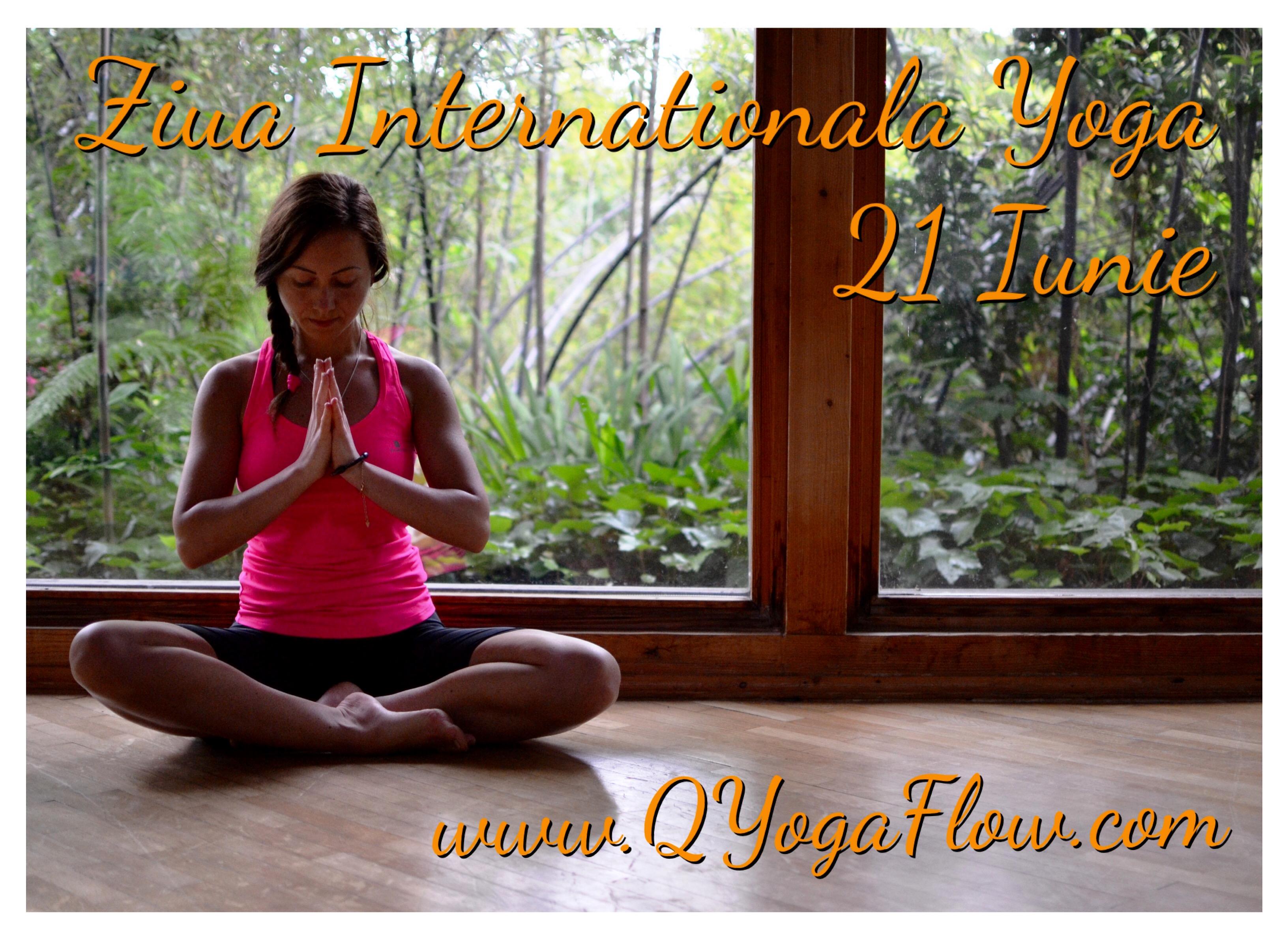 Ziua Internationala Yoga – 21 Iunie – Video