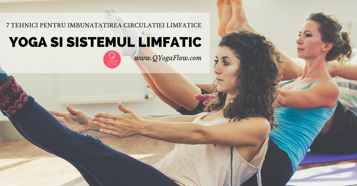 Yoga si sistemul limfatic