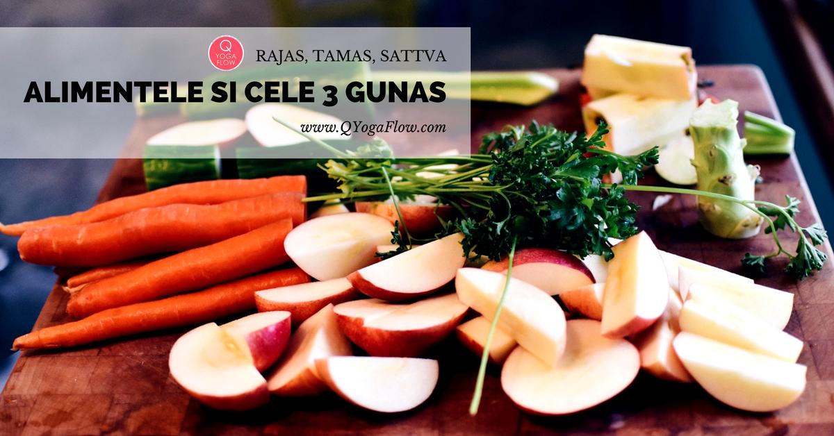 Alimentele si cele 3 Gunas (Rajas, Tamas, Sattva)
