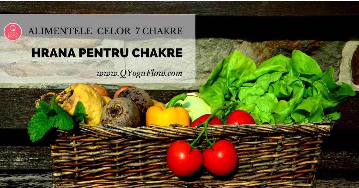 Hrana pentru chakre