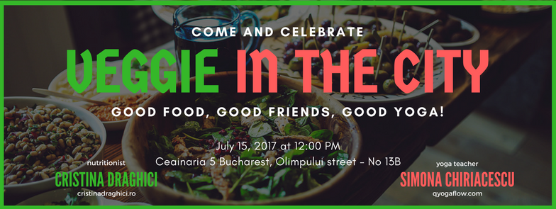 Veggie in the city – Good food – Good friends- Good yoga