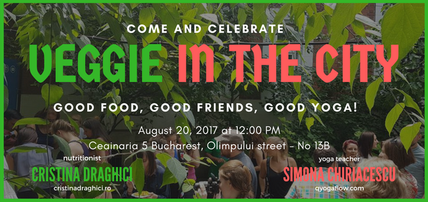 Veggie in the city Ed II – 20 August 2017 Save the date