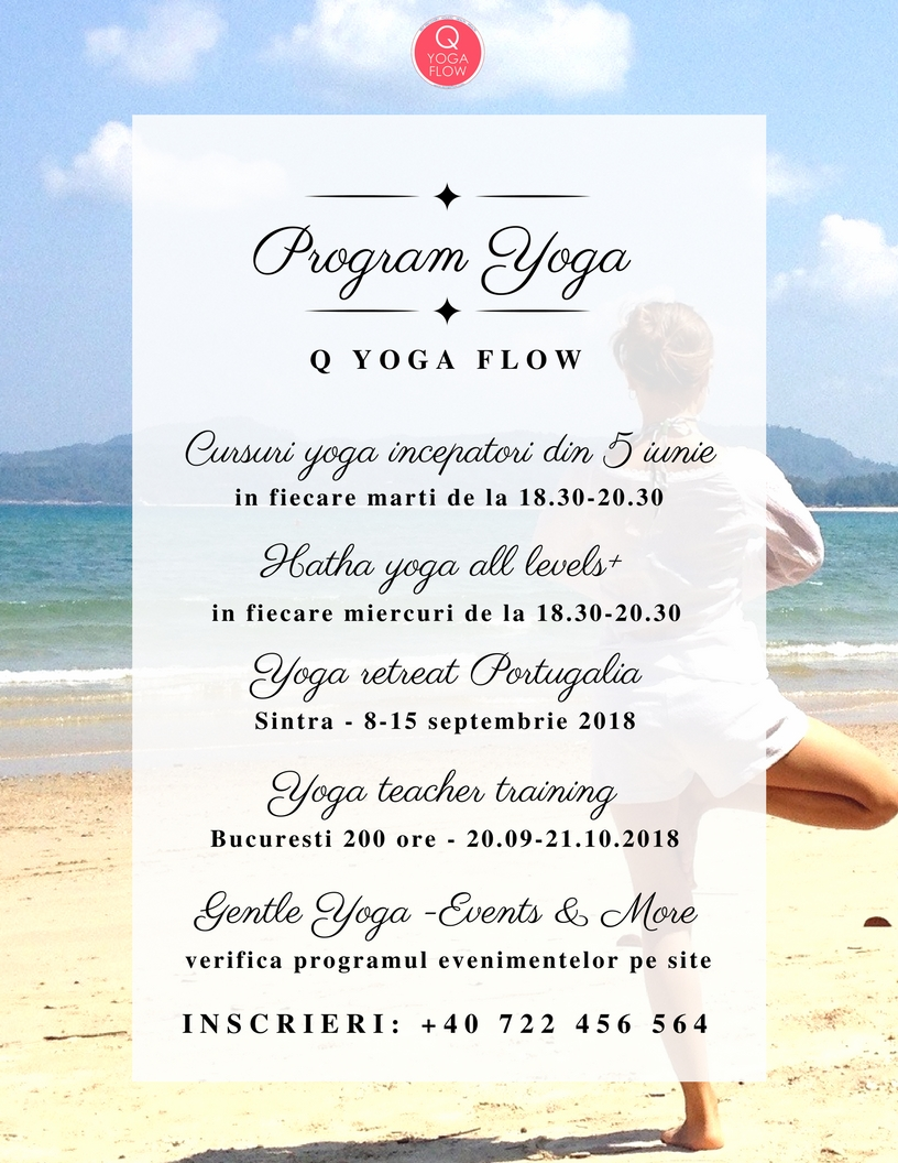 Program Cursuri Yoga