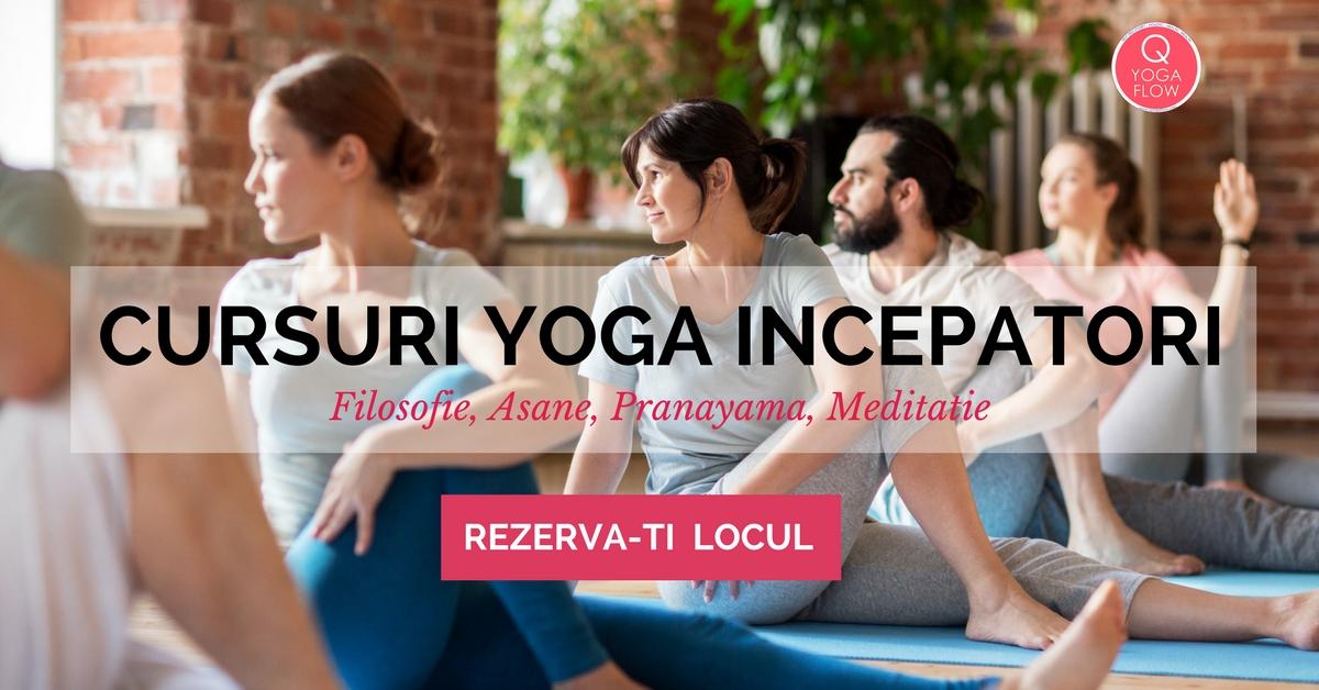 Cursuri Yoga Incepatori